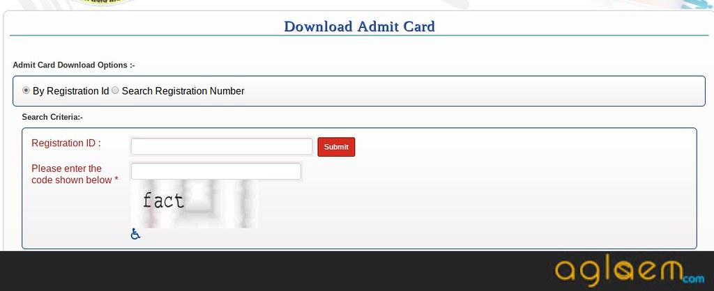 CG PAT 2019 Admit Card