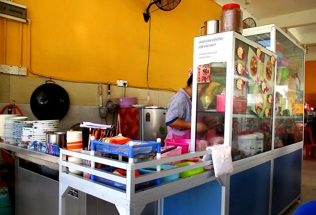 Everfull Kopitiam Selangau kampua mee stall