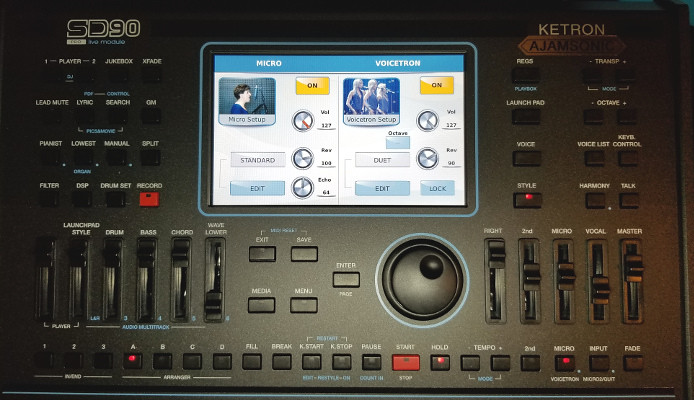 Ketron SD7 early review   General Arranger Keyboard Forum