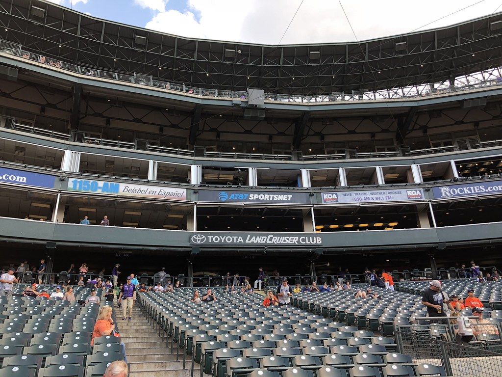 Coors Field - In The Ballparks