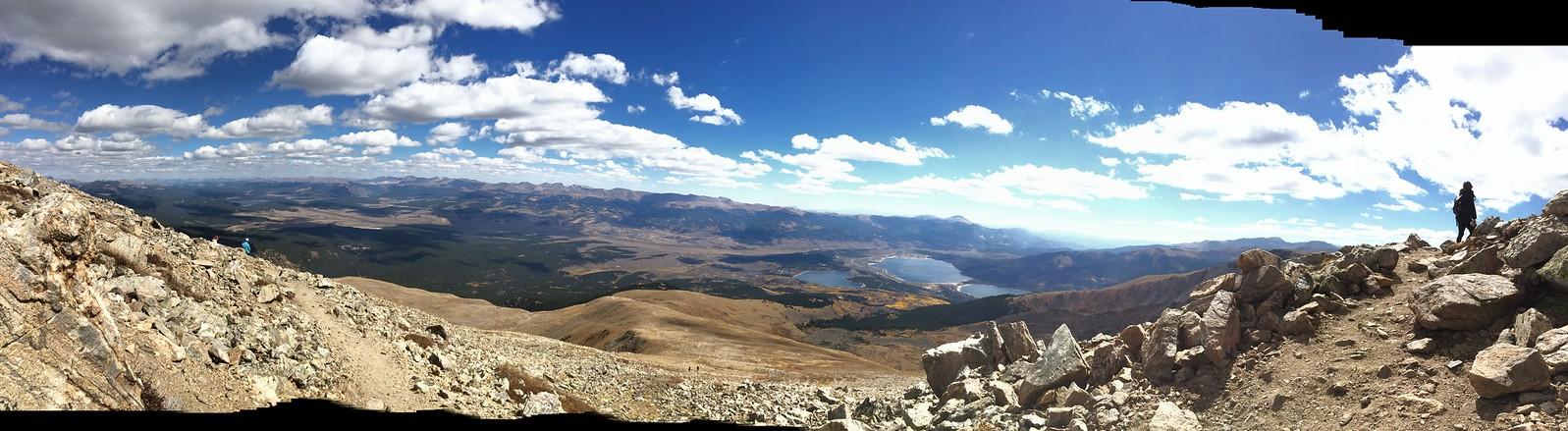 해발 4000m에서 내려다본 풍경