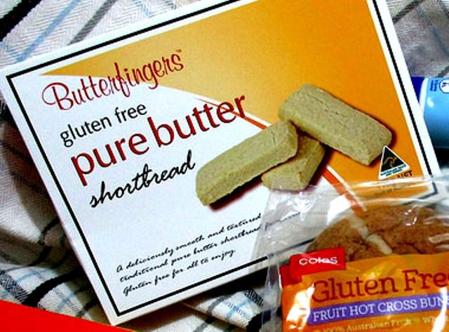 Butterfingers gluten free pure butter shortbread