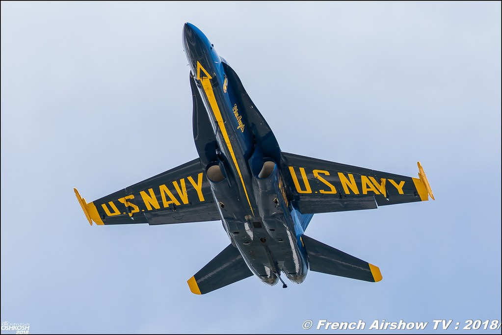 U.S. Navy Blue Angels EAA Air Venture Oshkosh 2018 Wisconsin Canon Sigma France contemporary lens Meeting Aerien 2018