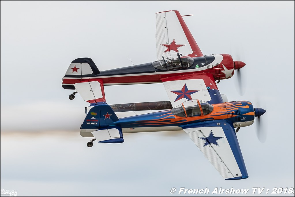 Yak-110 JEFF BOERBOON yak110.com EAA AirVenture Oshkosh 2018 Wisconsin Canon Sigma France contemporary lens Meeting Aerien 2018