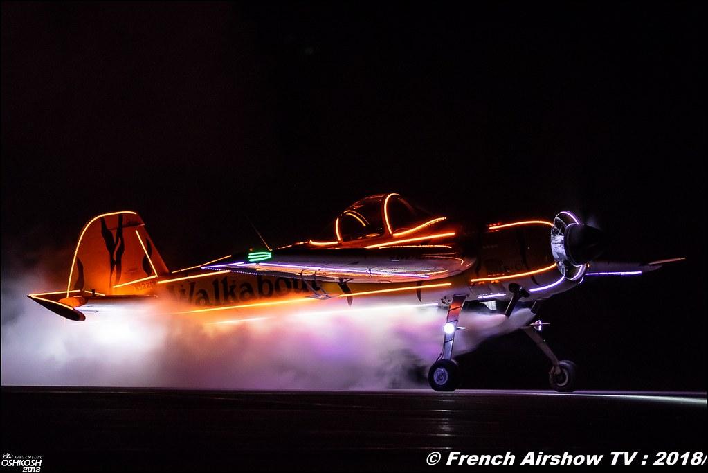 Tiger Airshows Yakolev Yak-55M RINGMASTERS EAA Oshkosh 2018
