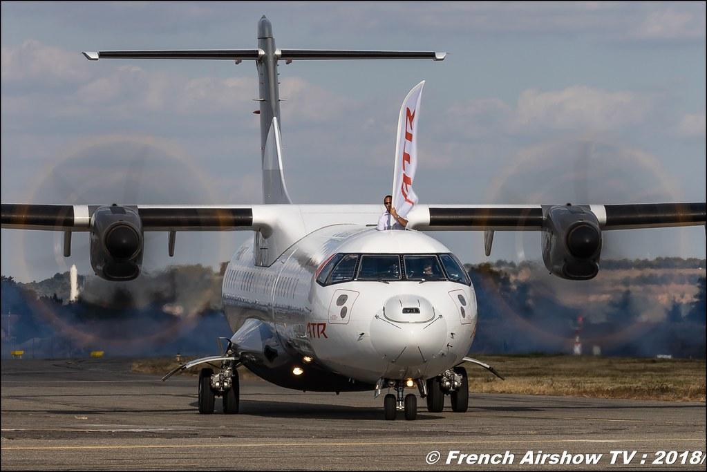 F-WWEY - ATR 72-212A(600) - ATR , Meeting aérien Des Étoiles et des Ailes 2018 - Aéroport de Toulouse Francazal , Canon EOS , Sigma France , contemporary lens , Meeting Aerien 2018