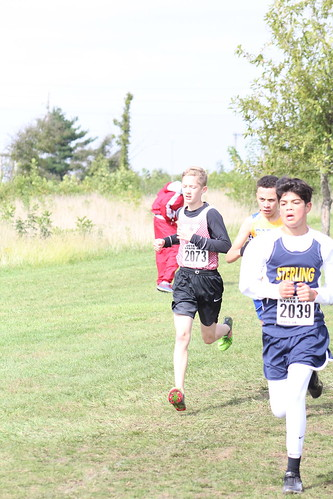 Aaron Wynn Runs for Yorkville at the IESA State Cross Country Championships