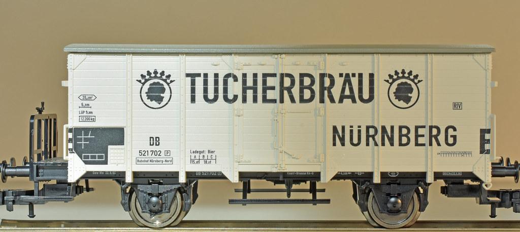 FLEISCHMANN Thermoschutzwagen, handgebremst, ohne Bremserhaus