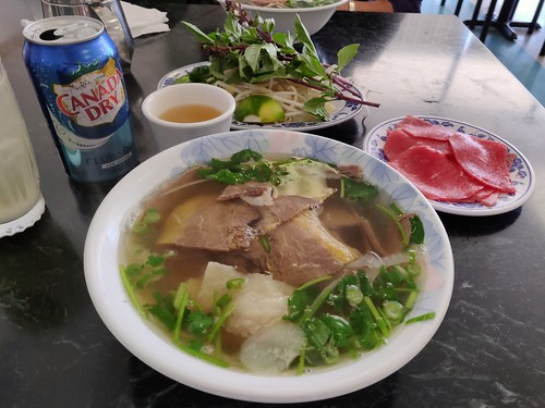 Phở with a side order of round steak