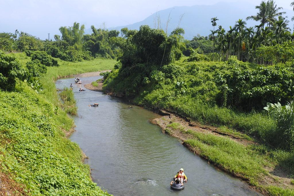 五溝水打滂仔親河體驗。攝影:李育琴