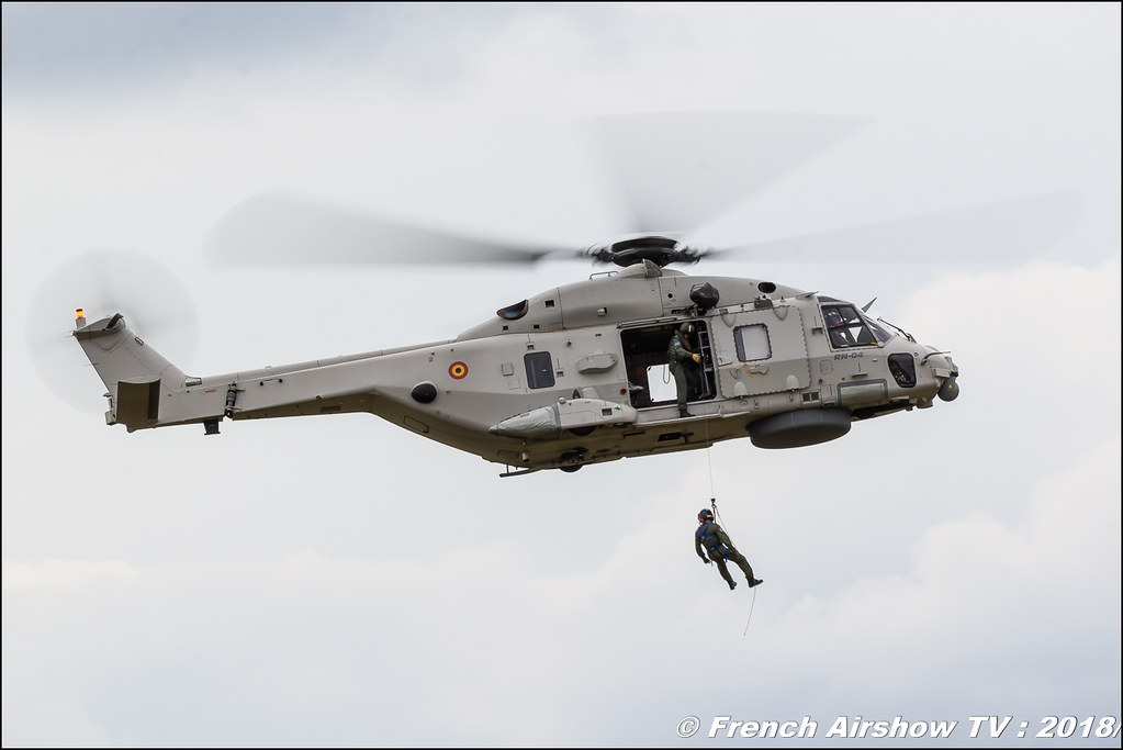NH90 TTH Tactical Transport Helicopter Belgian Defence BAFDAYS Kleine-Brogel 2018 BELGIAN AIR FORCE DAYS 2018 BA Kleine Brogel Canon Sigma France contemporary lens Meeting Aerien 2018