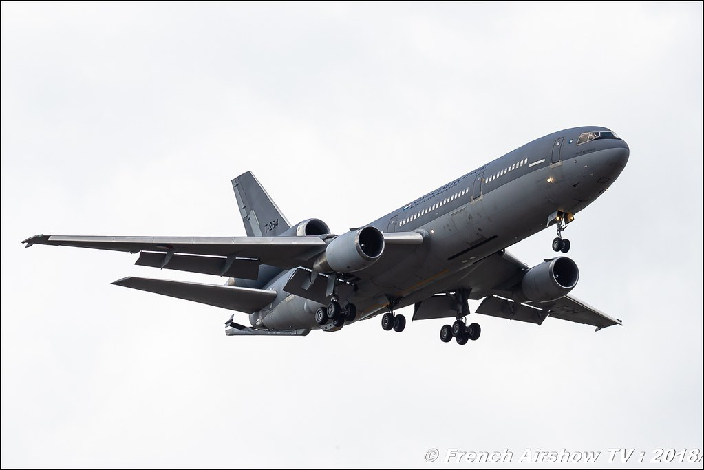 KDC-10 Royal Netherlands Air Force BAFDAYS Kleine-Brogel 2018 BELGIAN AIR FORCE DAYS 2018 BA Kleine Brogel Canon Sigma France contemporary lens Meeting Aerien 2018