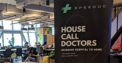 Speedoc was launched today at its office in UIC Building in Singapore.