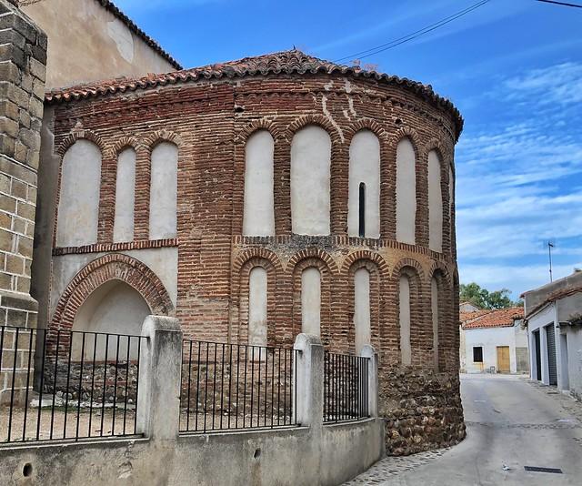 Ábside mudéjar de Galisteo (Cáceres, Extremadura)