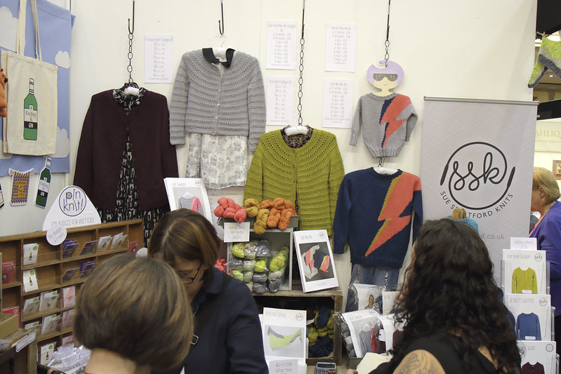 Sue Stratford Knits and The Knitting & Stitching Show
