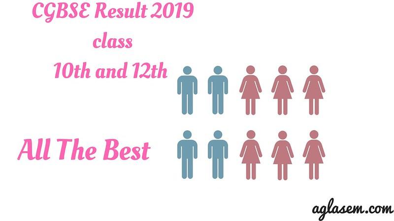 CGBSE Result 2019