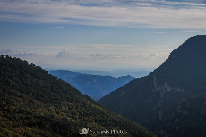 Montserrat desde el Mirador de la Clusa