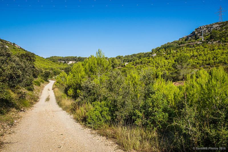 Por el Fondo de la Vall cerca de Cal Ximet