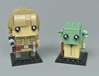 Review: 41627 Luke Skywalker & Yoda