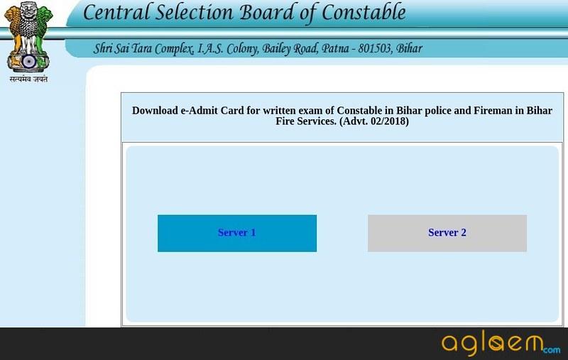 Bihar Police Constable Admit Card 2018 (Released) - Download Here