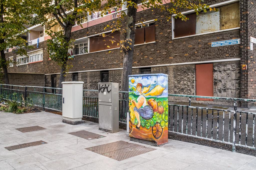 PAINT-A-BOX STREET ART IN DUBLIN 7 UPPER DOMINICK STREET 001
