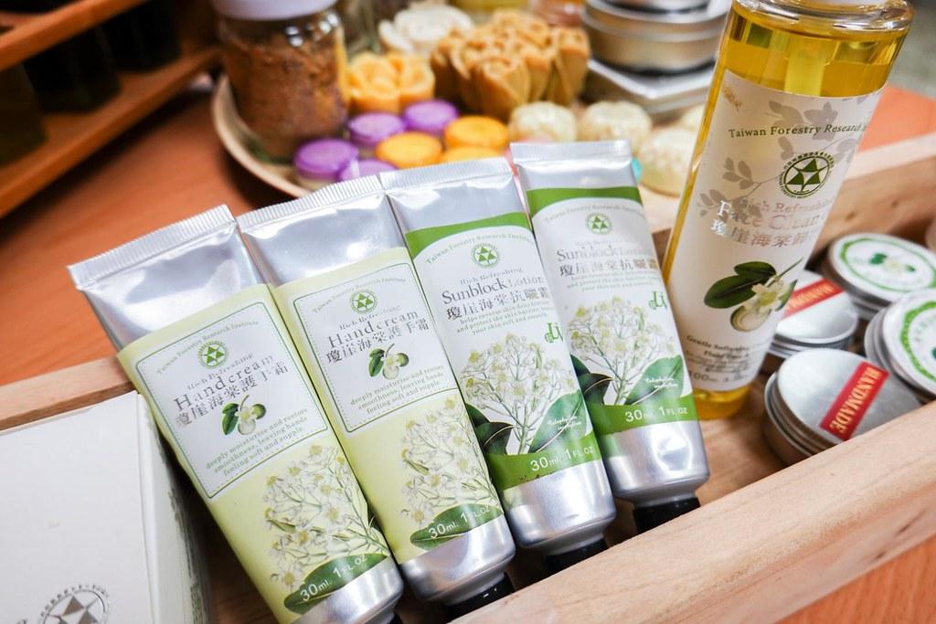 瓊崖海棠種仁油有優異的紫外線屏蔽效果,林試所曾嘗試製作防曬霜,防曬係數可達SPF43。