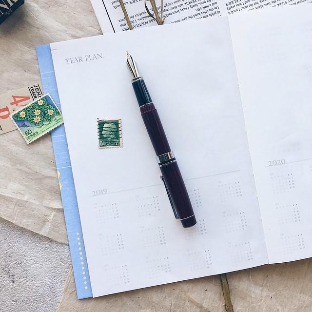 Sending thinking × Mr  Eggplant 2019 calendar book Fruity