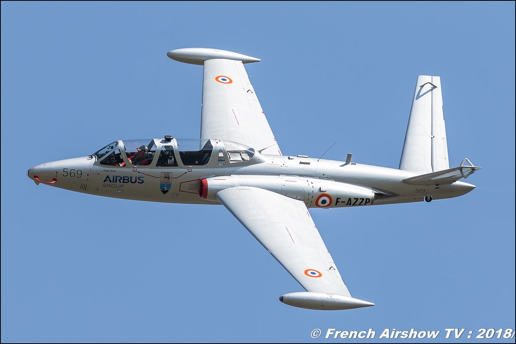 Fouga CM-170 Magister - F-AZZP Meeting de l Air BA-133 Nancy Ochey 2018 FOSA Armee de l Air Canon Sigma France contemporary lens Meeting Aerien 2018