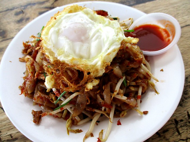 Happiness Cafe sambal kway teow 1