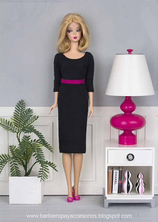 lined dress for Barbie