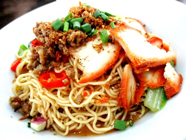 A One Cafe kolo mee