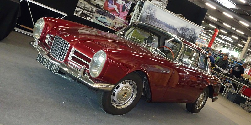 Facel III 1800 Volvo 1963  44407684275_c6c776143a_c