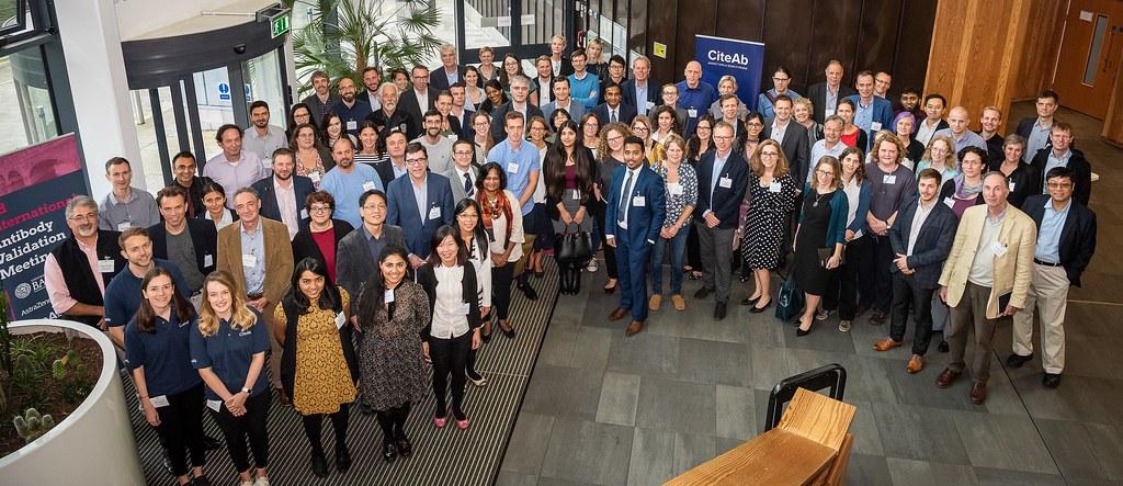 Delegates at the Third International Antibody Validation Meeting 2018