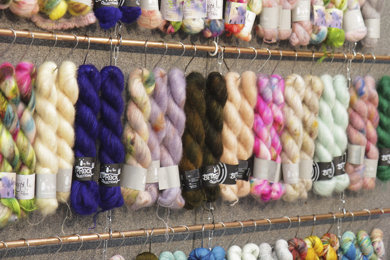 Qing Fibre at The Knitting & Stitching Show