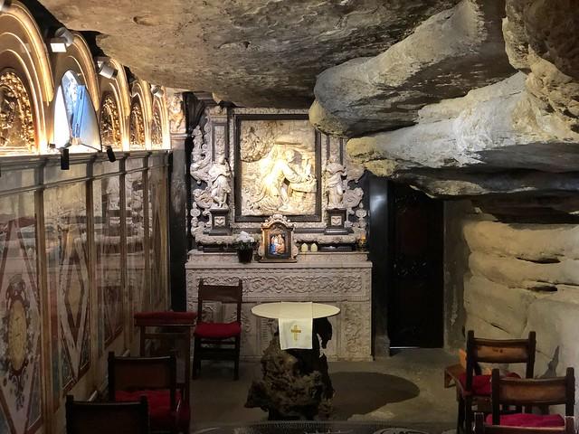 Cueva de San Ignacio de Loyola en Manresa (Barcelona)
