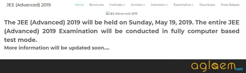 JEE Advanced 2019: IIT Roorkee to Conduct JEE Advanced on 19 May 2019