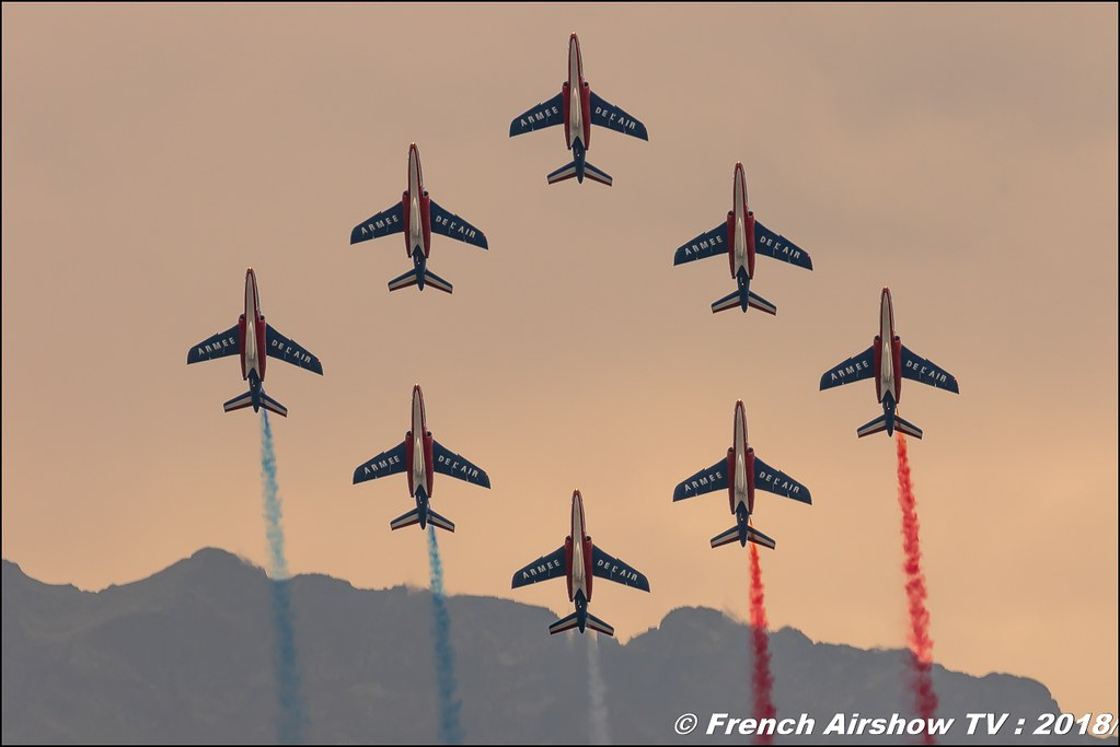 Patrouille de France , Coupe Icare 2018 , Canon EOS , Sigma France , contemporary lens , Meeting Aerien 2018