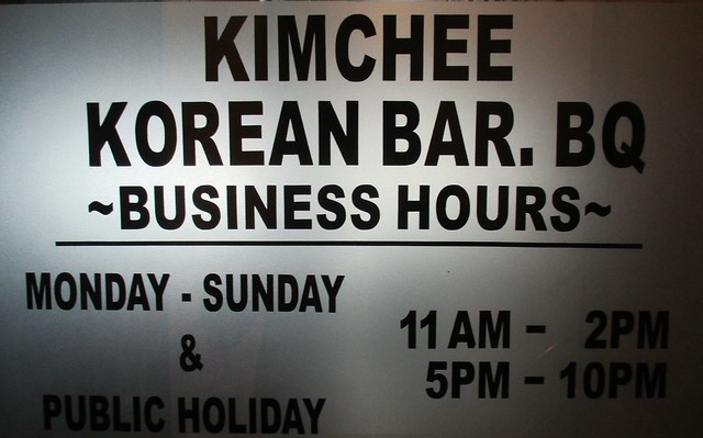 Kimchee Korean Bar.BQ 2
