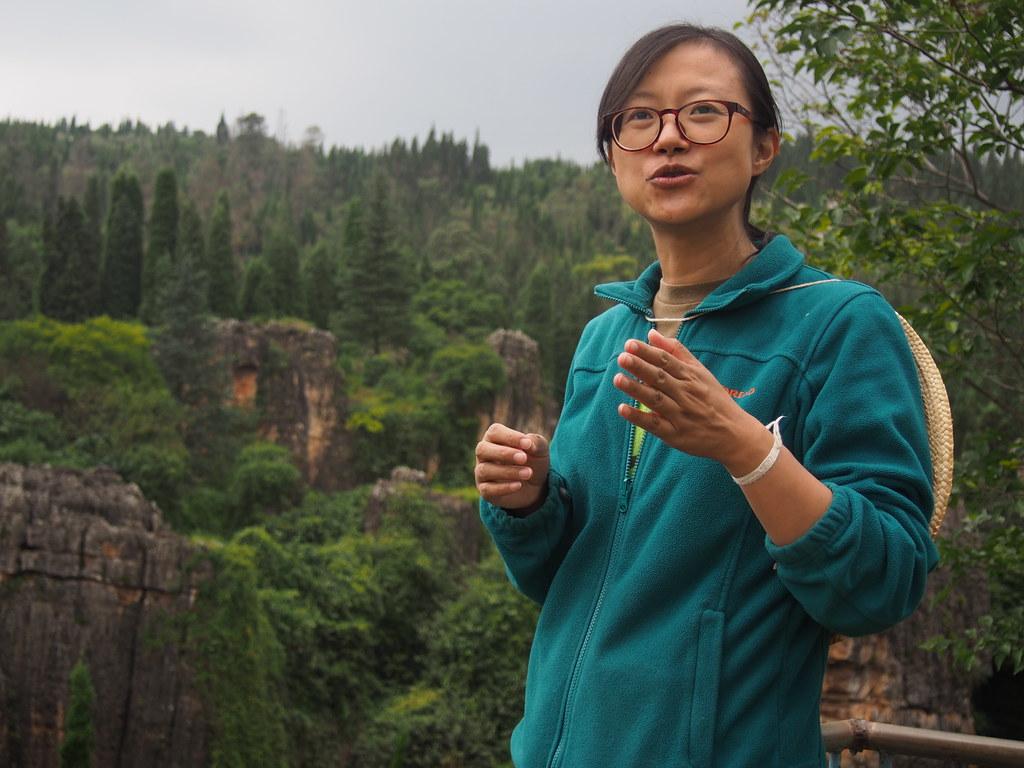 在地自然教育中心創辦人王愉。攝影:陳宣竹