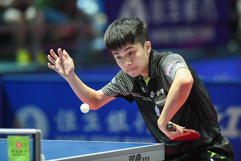 桌球好手林昀儒接下來將出征青奧銅牌戰。(資料照,取自國際桌總官網)