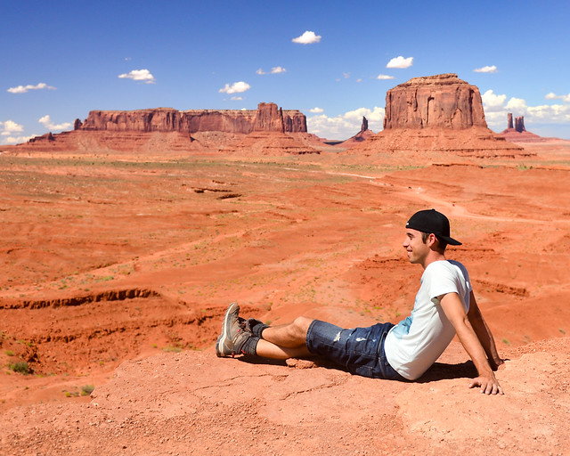 Mirador de John Ford en Monument Valley