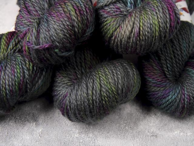 Awesome Aran Pure British Superwash Wool Hand Dyed Yarn