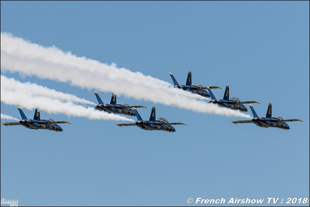 U.S. Navy Blue Angels EAA Oshkosh 2018