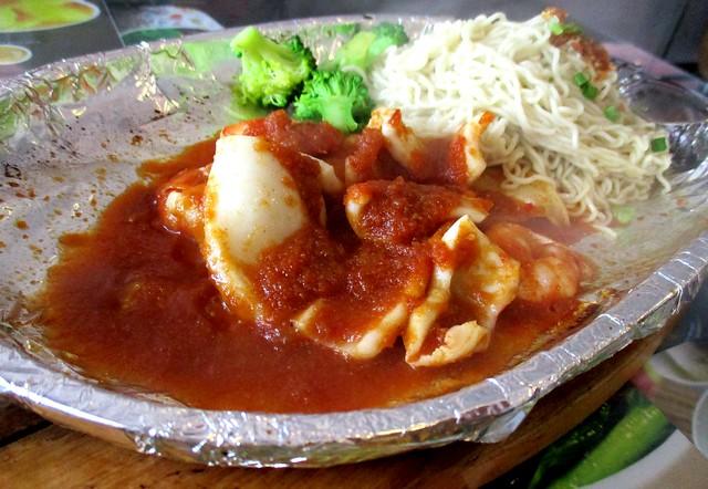 Seafood kampua