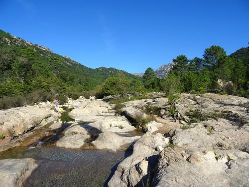 Vues du Cavu en remontant vers Ranuchjaghja (Trois-Piscines)