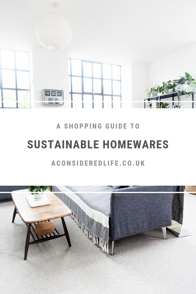 A Sustainable Homewares Brand Directory
