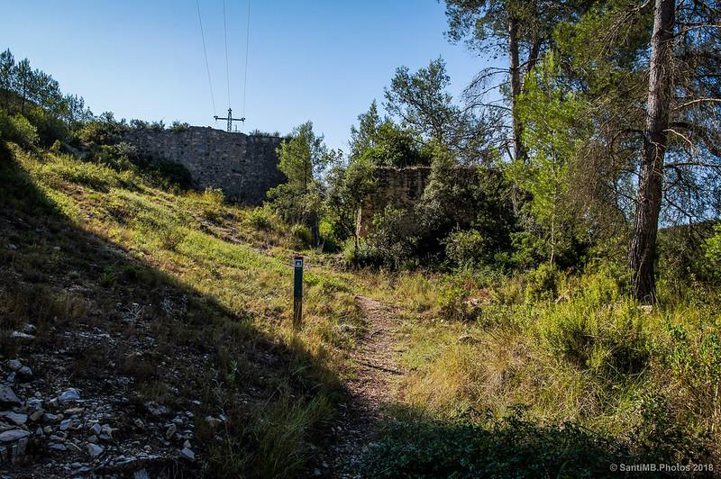 Desvío al Forn de Calç de Can Castellví