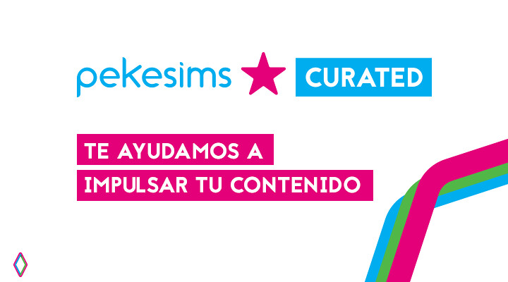 pekesims curated: te ayudamos a impulsar tu canal, tu web o tus creaciones