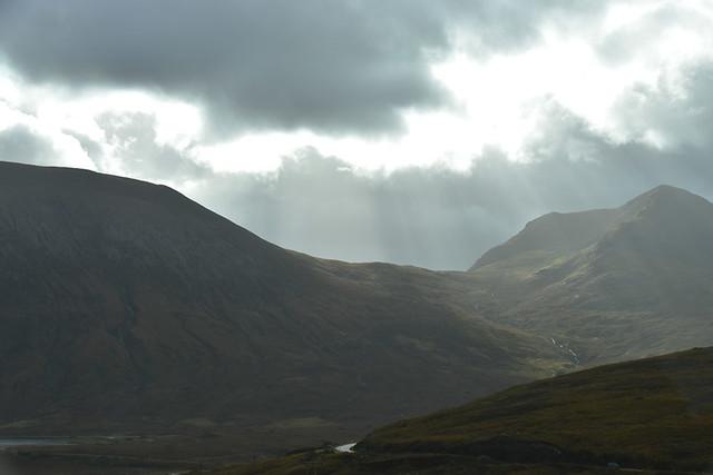 Gloomy weather, Scotland