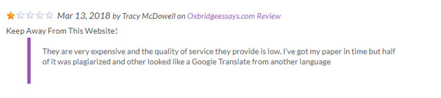 oxbridgeessays feedback